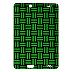 Woven1 Black Marble & Green Colored Pencil Amazon Kindle Fire Hd (2013) Hardshell Case