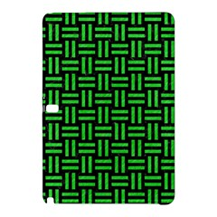 Woven1 Black Marble & Green Colored Pencil Samsung Galaxy Tab Pro 12 2 Hardshell Case