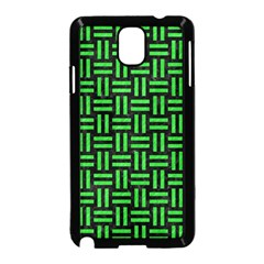 Woven1 Black Marble & Green Colored Pencil Samsung Galaxy Note 3 Neo Hardshell Case (black)