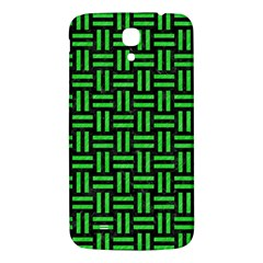 Woven1 Black Marble & Green Colored Pencil Samsung Galaxy Mega I9200 Hardshell Back Case