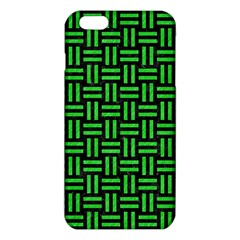 Woven1 Black Marble & Green Colored Pencil Iphone 6 Plus/6s Plus Tpu Case
