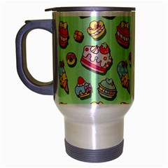 Sweet Pattern Travel Mug (silver Gray)
