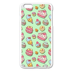 Sweet Pattern Apple Iphone 6 Plus/6s Plus Enamel White Case