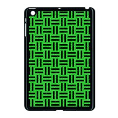 Woven1 Black Marble & Green Colored Pencil (r) Apple Ipad Mini Case (black)