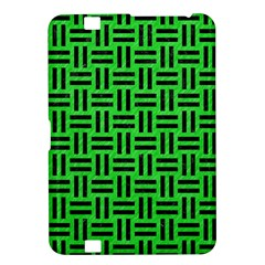 Woven1 Black Marble & Green Colored Pencil (r) Kindle Fire Hd 8 9