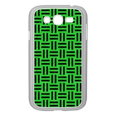 Woven1 Black Marble & Green Colored Pencil (r) Samsung Galaxy Grand Duos I9082 Case (white)
