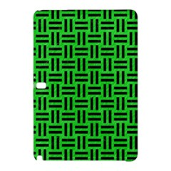 Woven1 Black Marble & Green Colored Pencil (r) Samsung Galaxy Tab Pro 10 1 Hardshell Case