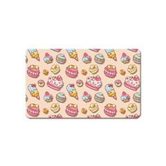 Sweet Pattern Magnet (name Card)
