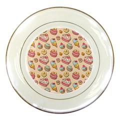 Sweet Pattern Porcelain Plates