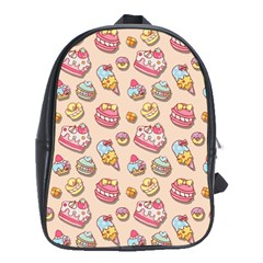 Sweet Pattern School Bag (xl)
