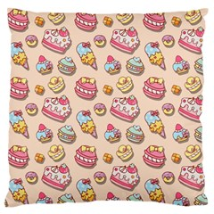 Sweet Pattern Standard Flano Cushion Case (two Sides)