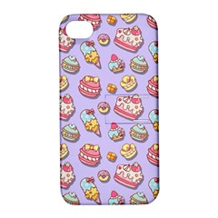 Sweet Pattern Apple Iphone 4/4s Hardshell Case With Stand