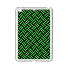 Woven2 Black Marble & Green Colored Pencil Ipad Mini 2 Enamel Coated Cases