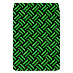 Woven2 Black Marble & Green Colored Pencil Flap Covers (s)