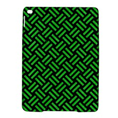 Woven2 Black Marble & Green Colored Pencil Ipad Air 2 Hardshell Cases