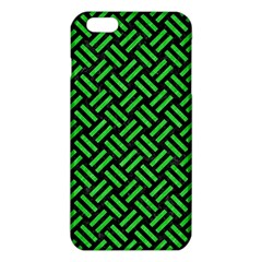 Woven2 Black Marble & Green Colored Pencil Iphone 6 Plus/6s Plus Tpu Case