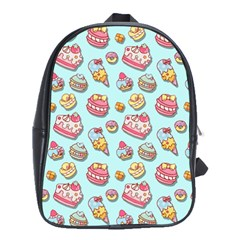 Sweet Pattern School Bag (large)