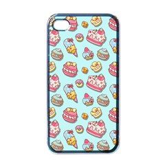 Sweet Pattern Apple Iphone 4 Case (black)