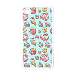 Sweet Pattern Apple Iphone 4 Case (white)