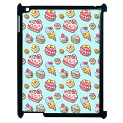 Sweet Pattern Apple Ipad 2 Case (black)