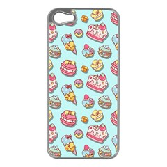 Sweet Pattern Apple Iphone 5 Case (silver)