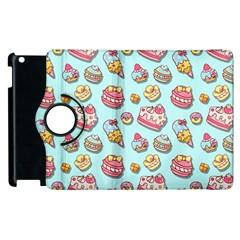 Sweet Pattern Apple Ipad 2 Flip 360 Case