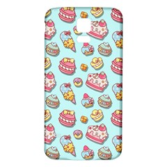 Sweet Pattern Samsung Galaxy S5 Back Case (white)