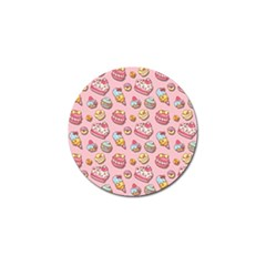 Sweet Pattern Golf Ball Marker (4 Pack)
