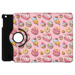 Sweet Pattern Apple Ipad Mini Flip 360 Case