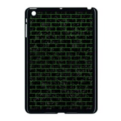 Brick1 Black Marble & Green Leather Apple Ipad Mini Case (black)