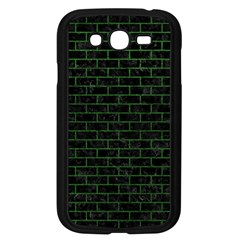 Brick1 Black Marble & Green Leather Samsung Galaxy Grand Duos I9082 Case (black)