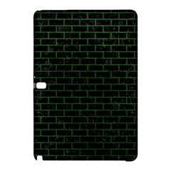 Brick1 Black Marble & Green Leather Samsung Galaxy Tab Pro 10 1 Hardshell Case