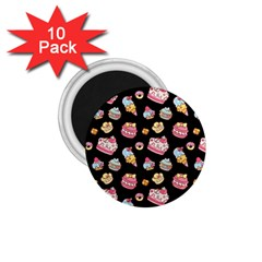 Sweet Pattern 1 75  Magnets (10 Pack)