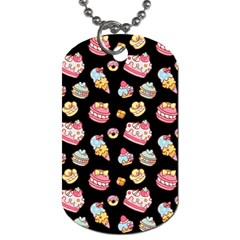 Sweet Pattern Dog Tag (two Sides)