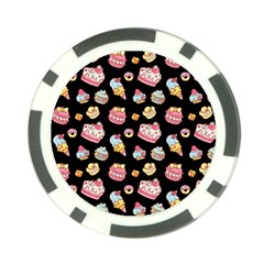 Sweet Pattern Poker Chip Card Guard
