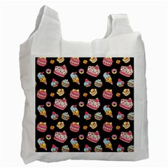 Sweet Pattern Recycle Bag (one Side)