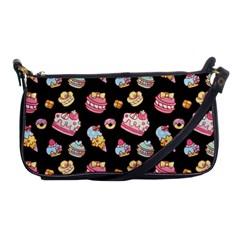 Sweet Pattern Shoulder Clutch Bags