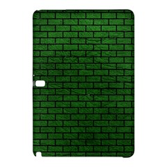 Brick1 Black Marble & Green Leather (r) Samsung Galaxy Tab Pro 10 1 Hardshell Case