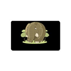 Cute Elephant Magnet (name Card)