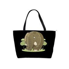 Cute Elephant Shoulder Handbags
