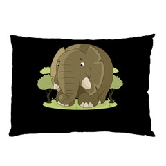 Cute Elephant Pillow Case (two Sides)