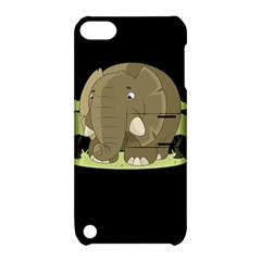 Cute Elephant Apple Ipod Touch 5 Hardshell Case With Stand