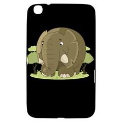 Cute Elephant Samsung Galaxy Tab 3 (8 ) T3100 Hardshell Case