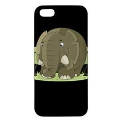 Cute Elephant Iphone 5s/ Se Premium Hardshell Case