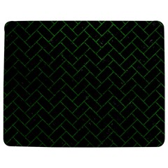 Brick2 Black Marble & Green Leather Jigsaw Puzzle Photo Stand (rectangular)