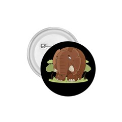 Cute Elephant 1 75  Buttons
