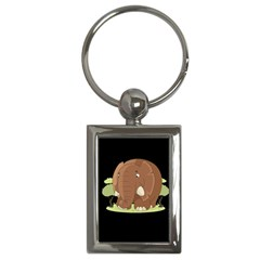 Cute Elephant Key Chains (rectangle)