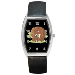 Cute Elephant Barrel Style Metal Watch