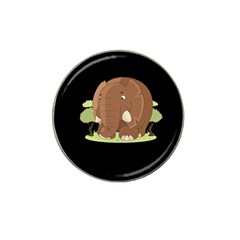 Cute Elephant Hat Clip Ball Marker (10 Pack)