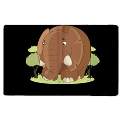 Cute Elephant Apple Ipad 3/4 Flip Case